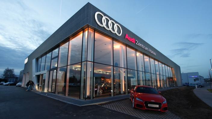 © APM AG   APM AG Der automobile Verbund   APM Partner Audi Zentrum Hanau